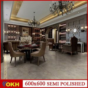 hot sale promotion stocked semi polished porcelain 3d lapato marble tile