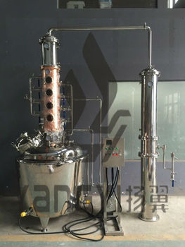 Stainless Steel Alcohol Distiller With Copper Distillation