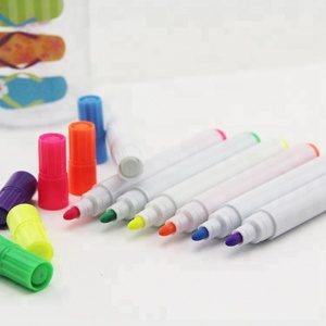 5mm tip clear body Liquid Chalk Markers - NEW REVERSIBLE TIP - Chalkboard Paint Pen 8 Pack + 2 FREE Gifts -multi-use