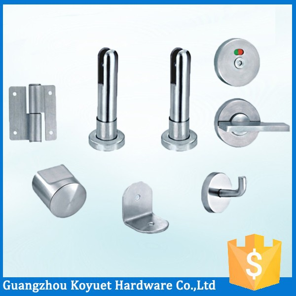 KOYUET Partition Cubicle Bathroom Accessories Names Accessory Public Toilet Door