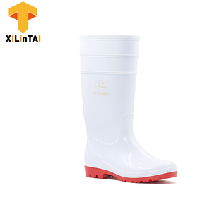 Food Factory White PVC Safety Boots