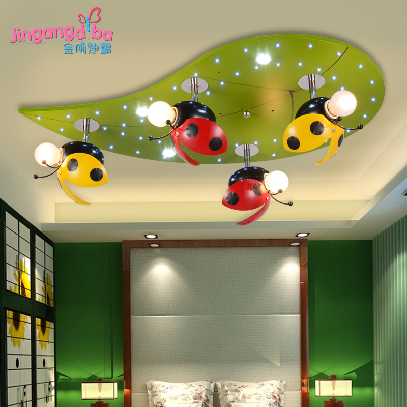 Modern Kids Bedroom Ceiling Designs Rustic Bedroom Accessories Bedroom Blue Color Combinations Bedroom Interior Design Singapore: Creative-Modern-children-s-bedroom-lamp-Ceiling-lighting