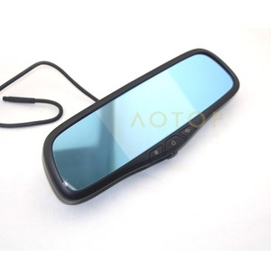 Newest 5 inch Capacitive Touch Screen Mirror Radar Detector GPS