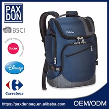 Crazy Sell Wholesale Leisure Blue Classical Waterproof Climb Backpack