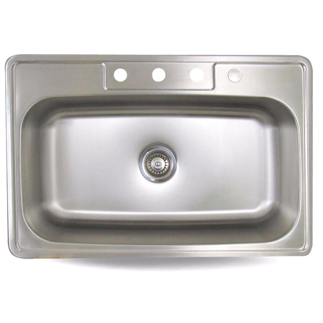 Cheap Single Bowl Kitchen Sink Drop In Find Single Bowl Kitchen