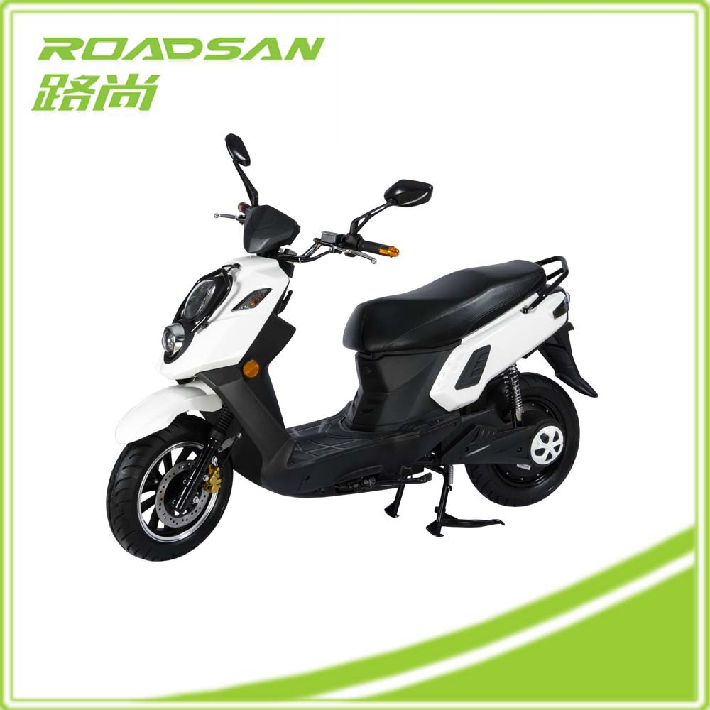 Long Quality Warranty Green Fashion Electric Motorcycle 1500 W