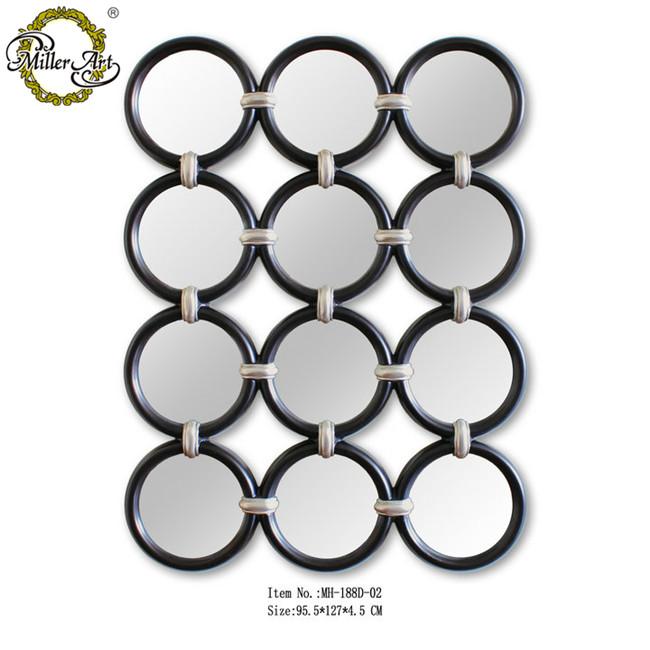 Runde Spiegel runde spiegel rund verbunden dekorative gerahmte spiegel für wand