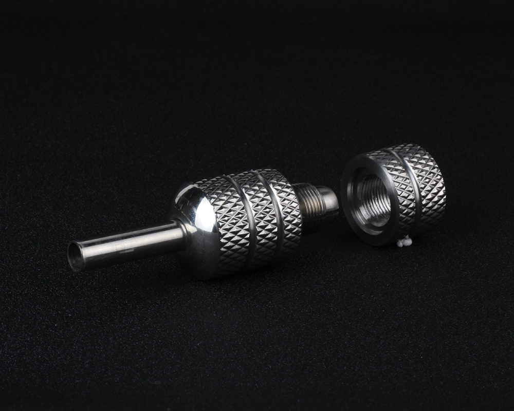 Yilong Stainless Steel 25mm s.s self-lock  Tattoo grip