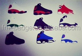 air jordan sneaker 3d keychains, running shoe key ring, mini running shoe keychain