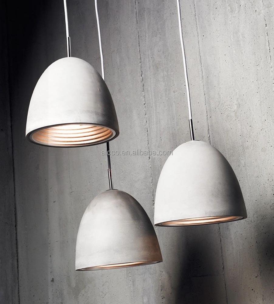 modern industrial lighting. Modern Industrial Concrete Light Decorative Home Hanging Pendant Lighting Restaurant