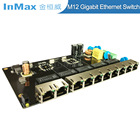 Ethernet Gigabit Switch 1000m Ethernet Switch 10 Port 10/100/1000M Ethernet Gigabit Switch Pcba Board Network Switch Pcb