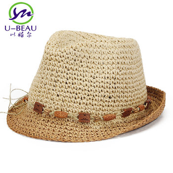 ffb78e4879e Summer Raffia Crochet Straw Hat Red Foldable Large Bowknot Wide Brim Women  Visor Ladies Travel Beach