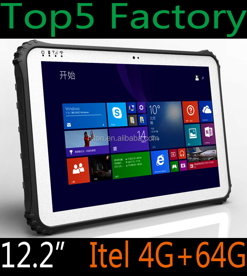 "Android 5.1 4GB+64GB 12.2"" 4G LTD Rugged PC Computer with RS232 Serial Port Android Tablet PC Computer with RS232 Serial Port"