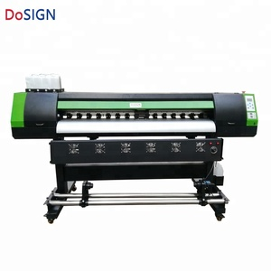 Competitive price hot selling 1.6m stickers printing machine with DX11 Print head