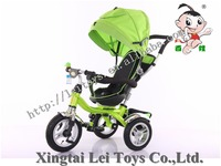 Popular children tricycle kids 3 wheel pedal car with canopy /Baby Tricycle 4 in 1/Cheap Kid Tricycle bike with round control
