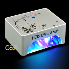 Beauty Art Manicure Pedicure Nail Polish Gel nails dry Curing Dryer 35W CCFL LED UV Lamp