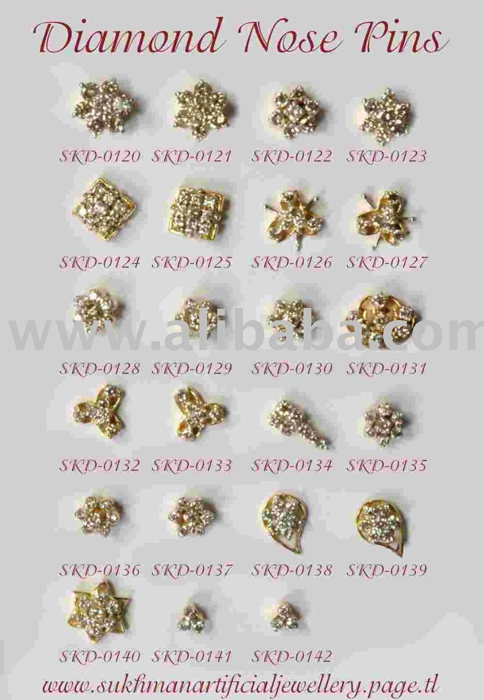 Nose Pins Diamond Buy Diamond Nose Pins Product On Alibaba