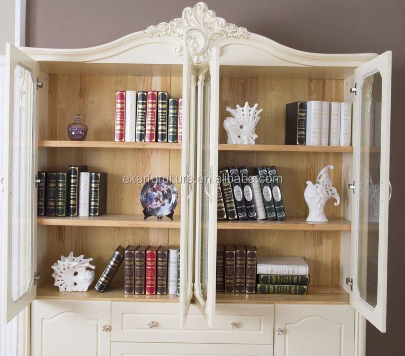 Diseños de muebles de madera muebles clásicos modernos estantería ...