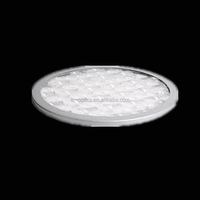 Optical usage overhead projector fresnel lens