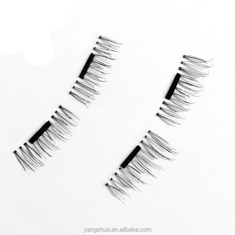 Magnetic Eye Lashes 3D Mink Reusable False Magnet Eyelashes