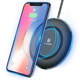 Free Shipping Wireless Charger for iPhone X XS XS MAX FLOVEME Original With LED Wireless Charging Pad