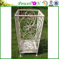 Discounted Antique Cheap Metal Square Umbrella Holder Garden Decoration For Patio Park I26M TS05 G00 X00 PL08-5059