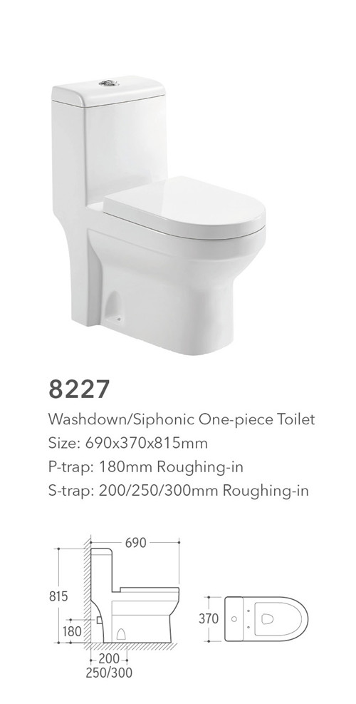4inch outlet customized ceramic human toilet with asian style