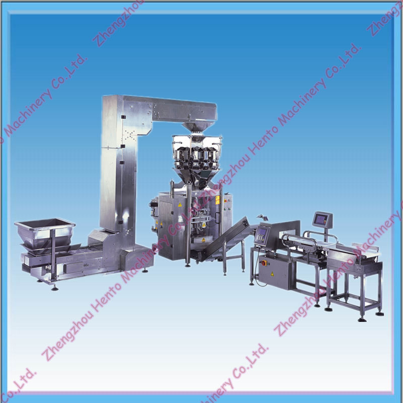 Multihead Weigher Chips Snack Packing Machine