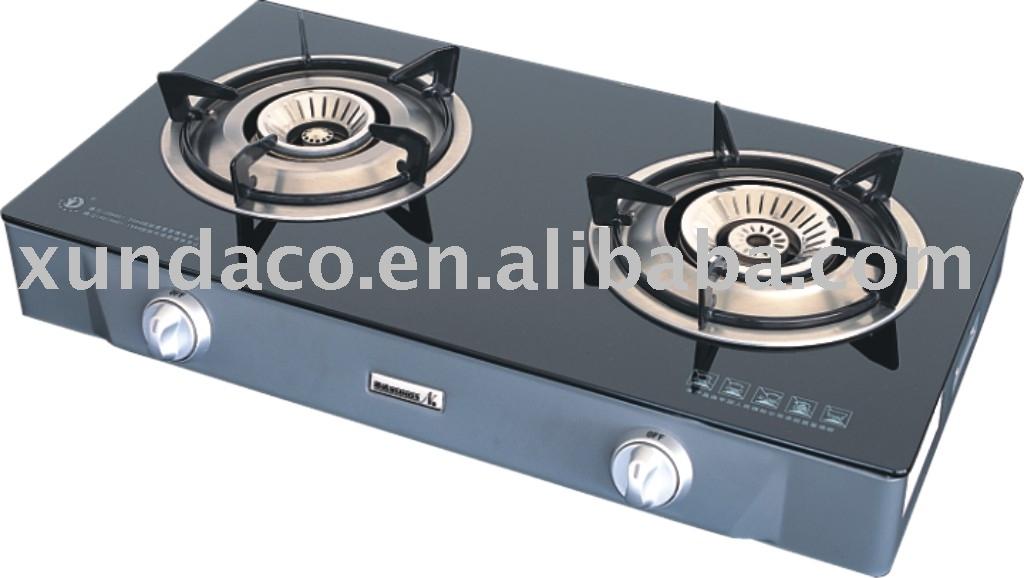 2 burners table top gas cooker gas stove