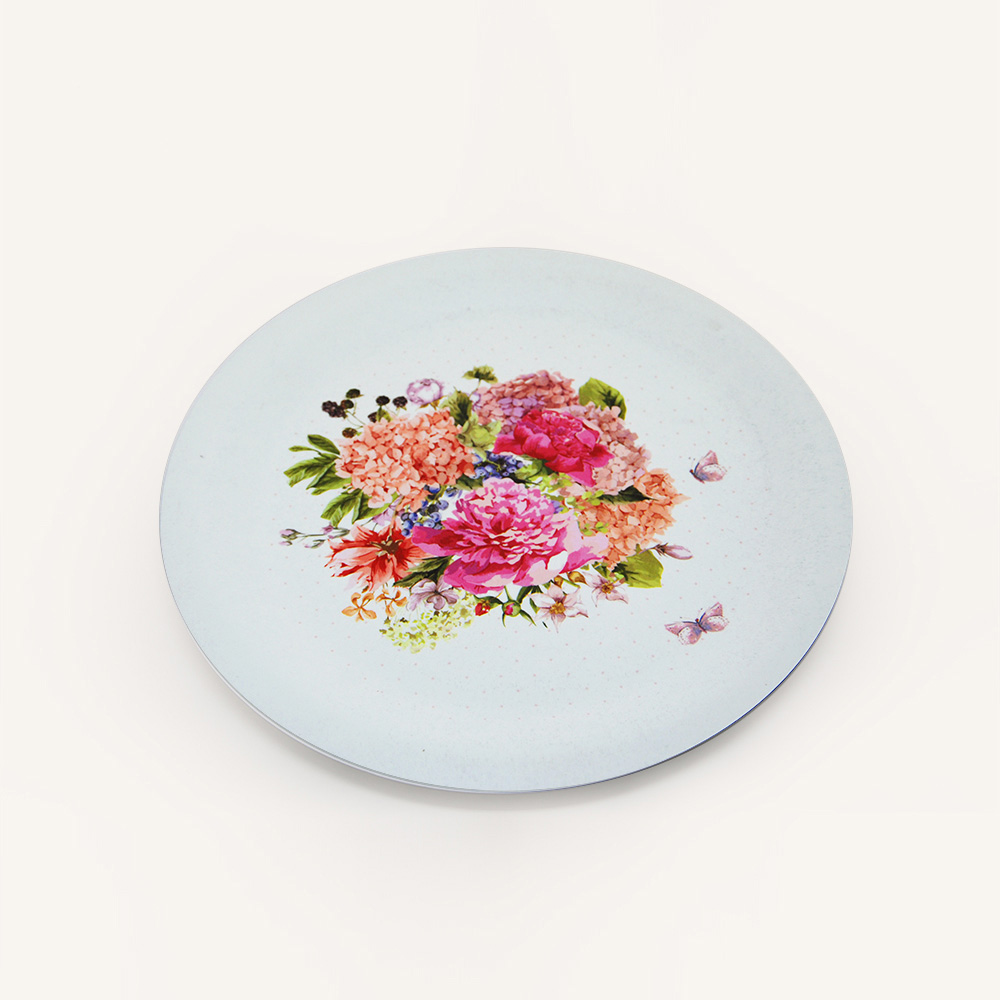 best CUSTOM PAPER PLATES Personalized For Parties images on     Gold foil beads and frame modern white wedding paper plate