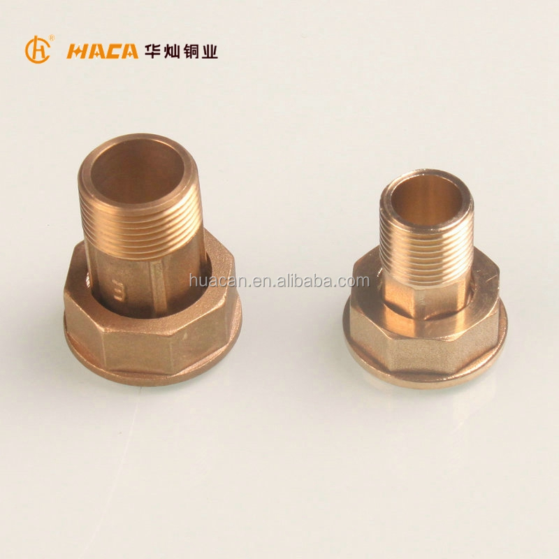 China supplier high quality brass gas meter Connector fittings