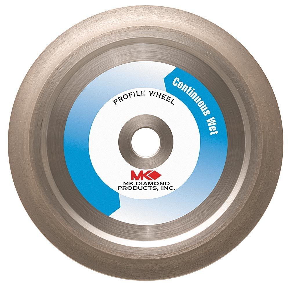 MK Diamond 155853 MK-275G 6-Inch Diameter 3/8-Inch Radius Profile Wheel
