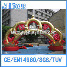 cheap Advertising event inflatable arch for commerial