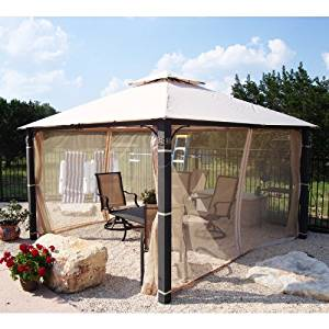 Delicieux Get Quotations · 12 X 12 Medallion Post Gazebo Replacement Canopy