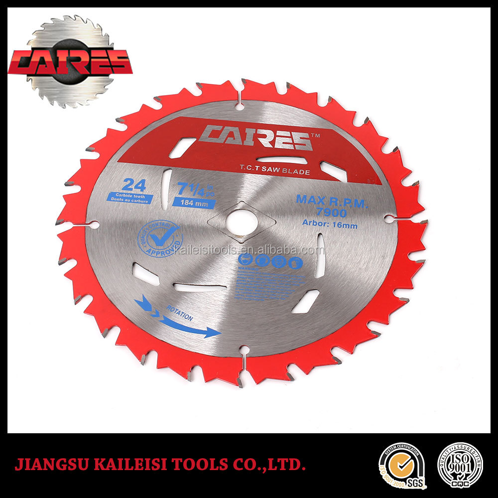 tungsten carbide tipped circular saw blade for rubber cutting blade