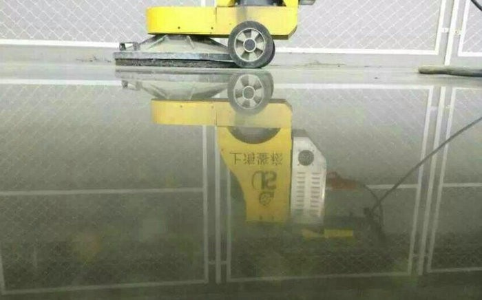 High Speed Floor Burnisher And Buffer , Hand Held Floor Polishing Machine