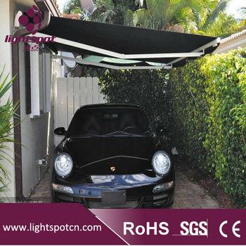 Outdoor Acrylic Patio Awning Retractable Carport - Buy ...