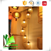 Contemporary Ceiling light Customized Bamboo Wooden Hanging Lamp for Restaurant
