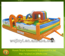 Best selling fantasy inflatable obstacle games/inflatable tunnel obstacle course