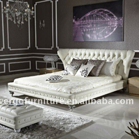 leisure modern leather bed