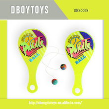 Hot sale plastic toy paddle ball for kid EN-71/6P/ASTM DBS0068