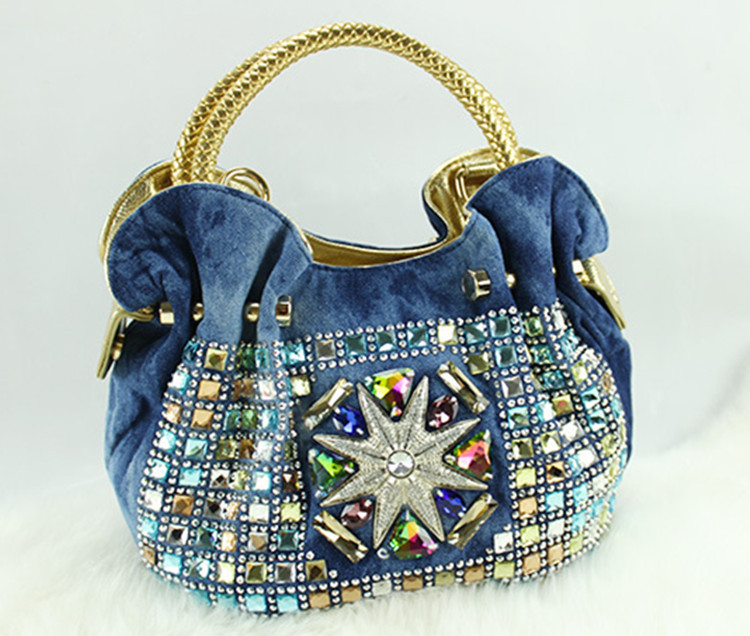 cd194e630fd0b Wholesale European jeans handbag Mickey Mouse shape inexpensive handbags