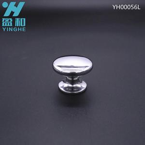 Stainless steel cookware lid handle and knob