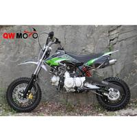 QWMOTO manufacturer of dirt bike CE 50cc 110cc motocross for beginner with automatic clutch 110CC motorcycles