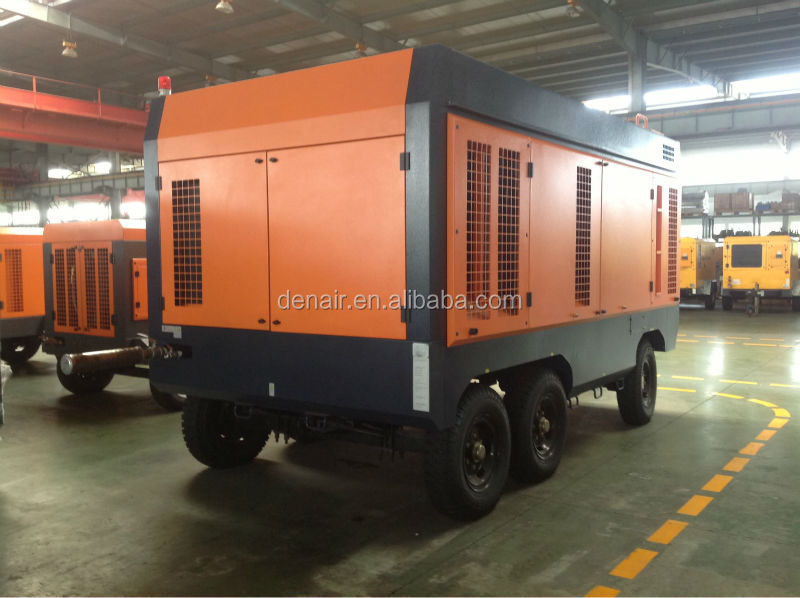 12m3/min Large mobile screw air compressor form shanghai