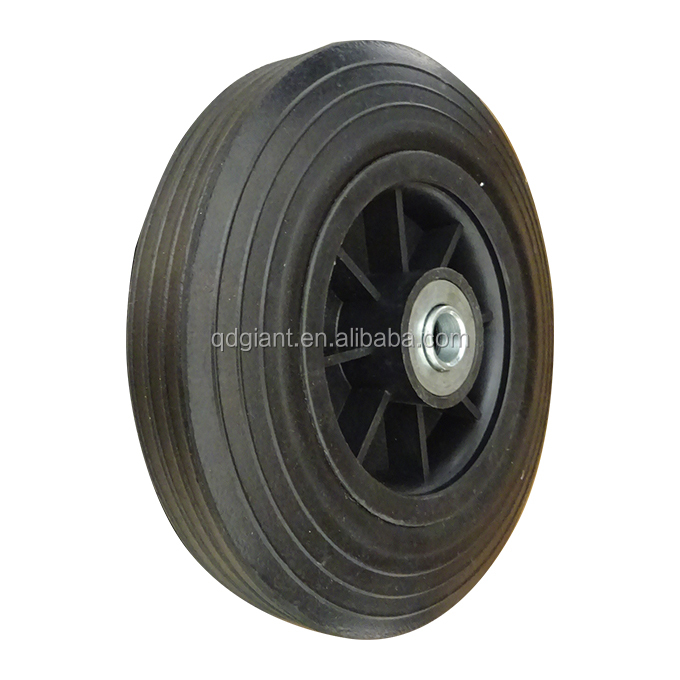 Good quality and low price <strong>rubber</strong> & plastic rim trash bin wheels