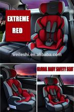 Plastic baby car seat 0-25kgs 9-36kgs child seat made in China