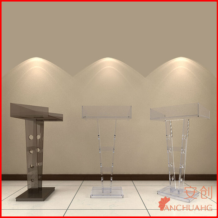 Acryl klares intelligentes Podium