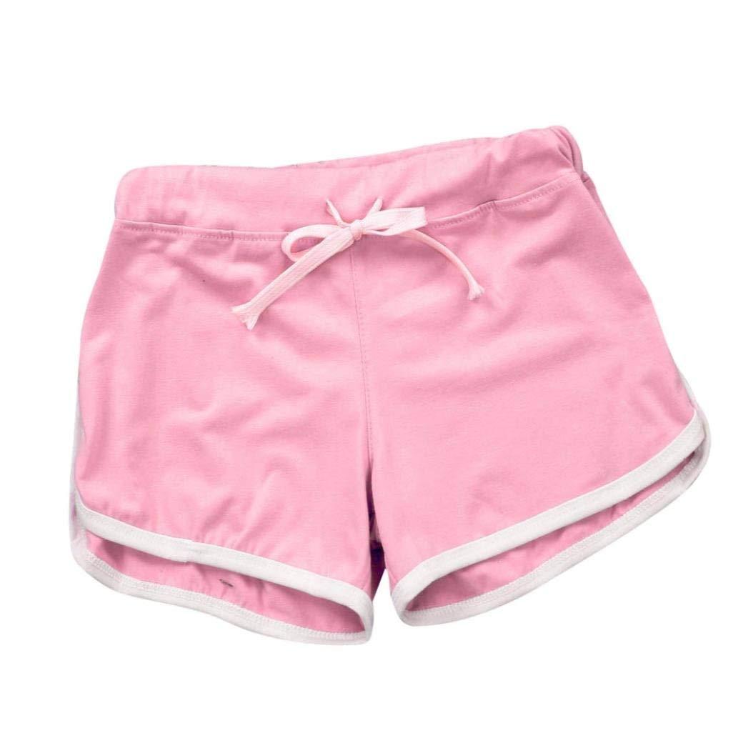 Clearance!Women Shorts, Women Sport Shorts Gym Workout Waistband Skinny Yoga Elastic Shorts