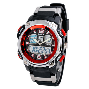Free-Shipping-Cool-Boys-LED-Waterproof-Dual-Time-zones